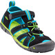 Keen Seacamp II CNX Sandals Children Black/Blue Danube